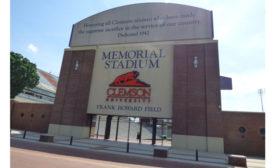 Clemson stadium gate
