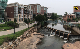 BEST FOR BUSINESS: Greenville, South Carolina, was named the best city for contractors in Thumbtack.com's Small Business Friendliness Survey. Photo courtesy of Matthew Rings, http://bit.ly/greenvillesc