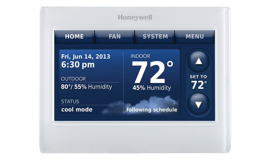 The Prestige is a seven-day programmable, high-definition, color, touchscreen thermostat that is configurable for residential and light commercial applications
