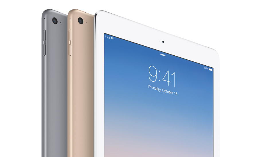 Engineered for unmatched portability and ease of use, Apple's iPad Air 2 offers a precise unibody enclosure of anodized aluminum for durability and a solid feel.