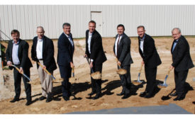 Danfoss ADC groundbreaking