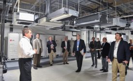 LG Electronics' Learning Academy, located inside of its new headquarters in Alpharetta, Georgia, opened last month.