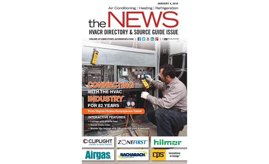 2016 NEWS Directory Cover