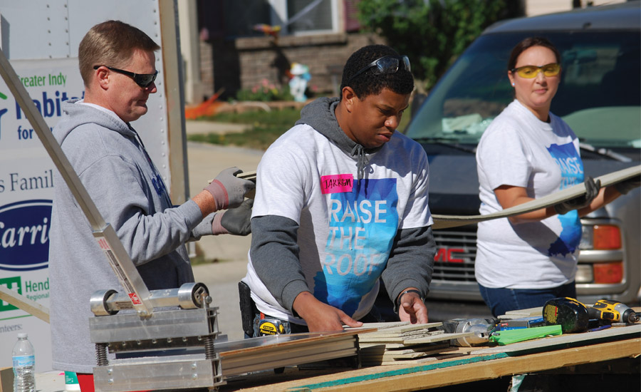 Carrier Supports Habitat for Humanity of Greater Indianapolis