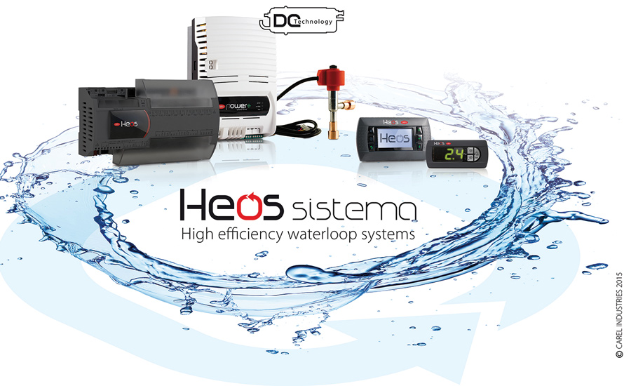 HEOS Sistema is a low-charge, water-cooled refrigerated case solution that is designed to reduce refrigerant charge, refrigeration leaks, energy use, and installation and maintenance costs while increasing food quality.