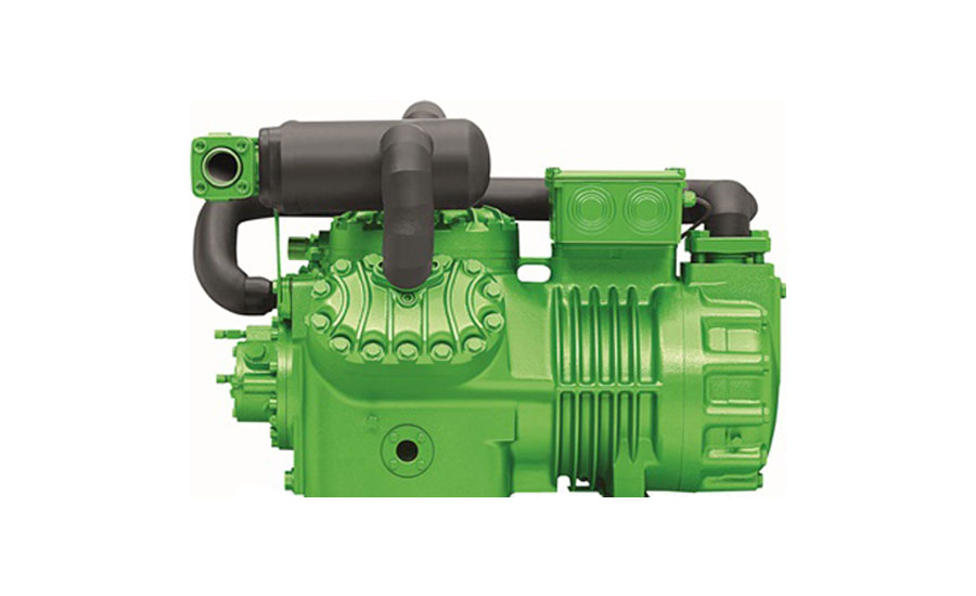 Bitzer two-stage reciprocating compressor