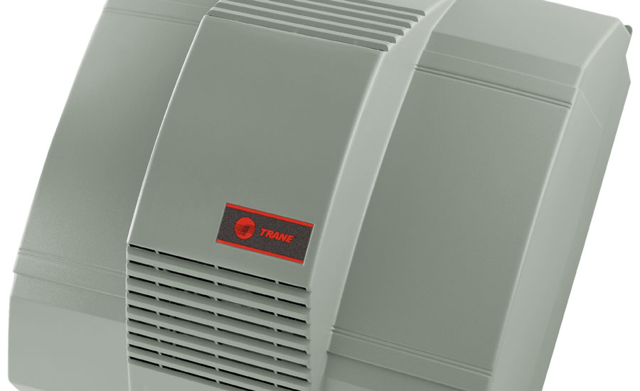Trane's line of whole-home humidifiers features two sizes of bypass humidifiers and one power humidifier. The company plans to launch a steam humidifier soon.