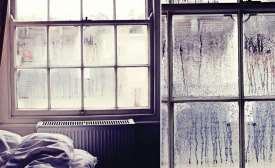 Excessive condensation can be caused by too much humidity, inadequate ventilation, or poor-quality windows.