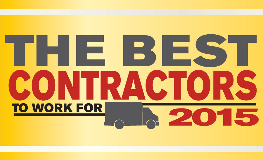 The NEWS Celebrates 2015 Best Contractors  to Work For