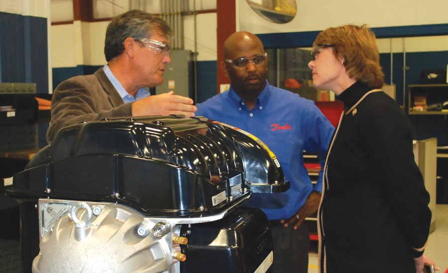 Congresswoman Gwen Graham Visits Danfoss Turbocor Facility