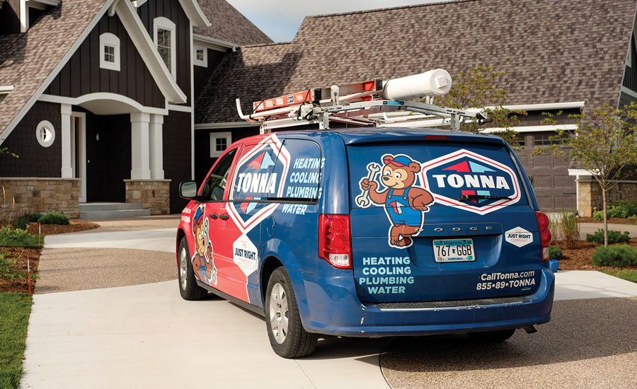 Rochester, Minnesota-based Tonna Mechanical decided to rebrand its business to keep from blending in with other HVAC contracting companies.