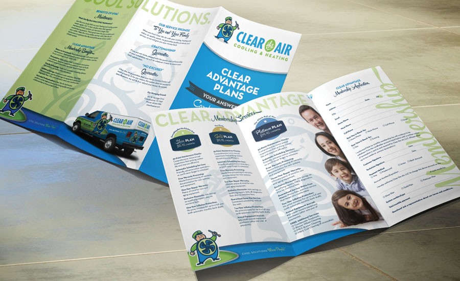 Clear the Air in Alvin, Texas, completely updated its brand to include a new logo, website, marketing materials, and vehicle wraps.