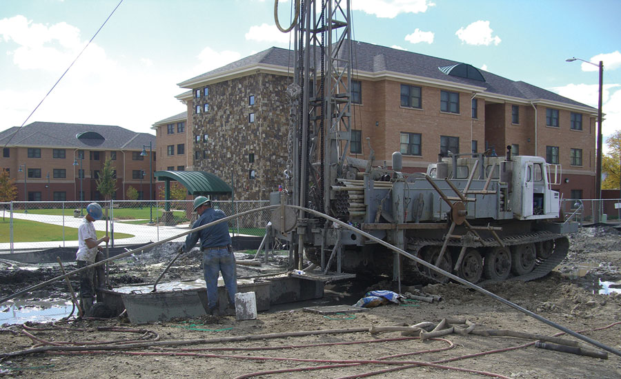 Colorado Mesa University uses a distributed geothermal energy system in order to share energy between buildings across the campus. PHOTO Courtesy OF Sound Geothermal Corp.
