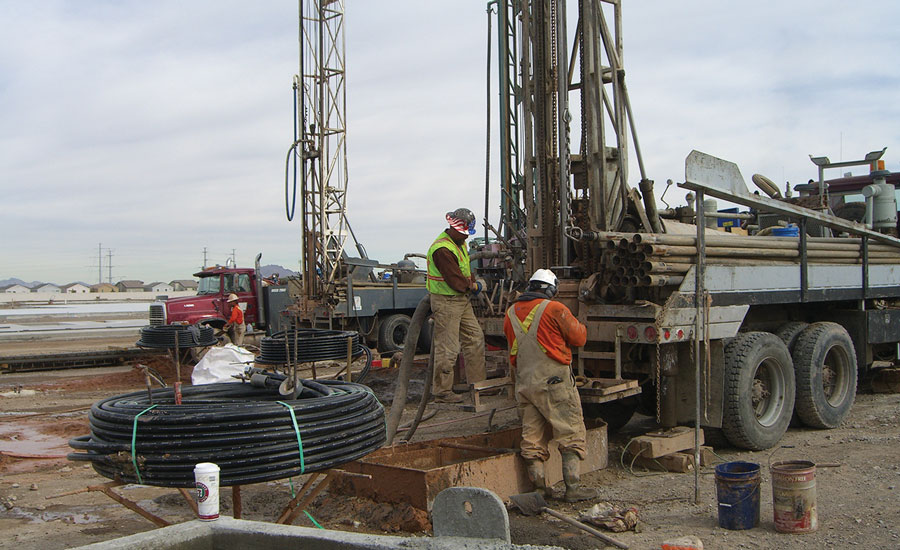 High costs associated with drilling have kept geothermal systems from becoming very popular in many parts of the West. PHOTO Courtesy OF Sound Geothermal Corp.