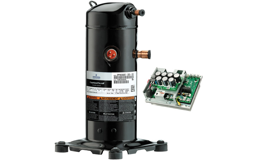 Emerson climate technologies inc bpm motor compressor for Emerson ultratech variable speed motor