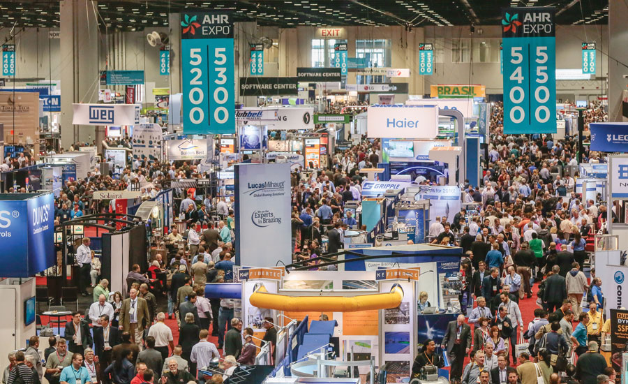 The 2016 International Air-Conditioning, Heating, Refrigerating Exposition (AHR Expo), held Jan. 25-27 at the Orange County Convention Center in Orlando, Florida, welcomed 60,926 registered attendees.