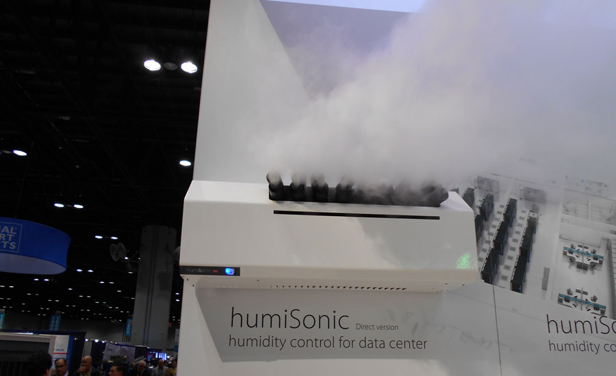 The Carel humiSonic direct humidifier can be installed directly in the humidified environment.