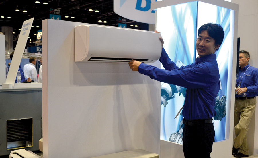 Naoki Fujita examines the VRV IV-S Series as part of Daikin Applied's efforts in the ductless marketplace.