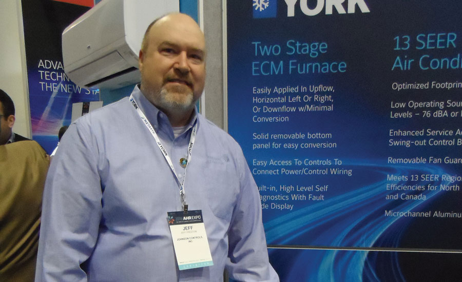 Jeff Preston, product manager, unitary products group, Johnson Controls, said the York LX Series TM9Y furnace delivers reliable performance and efficiencies up to 96 percent AFUE.