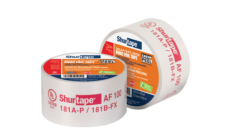 Shurtape featured its new AF 100 with EasyPEEL™ split liner technology at the AHR Expo.