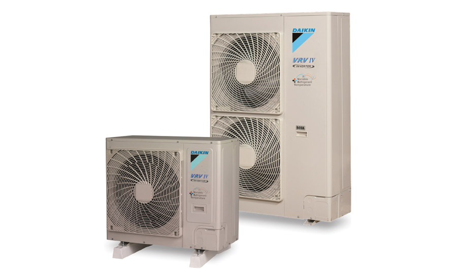 The VRV IV-S-series is built with a Daikin inverter swing compressor