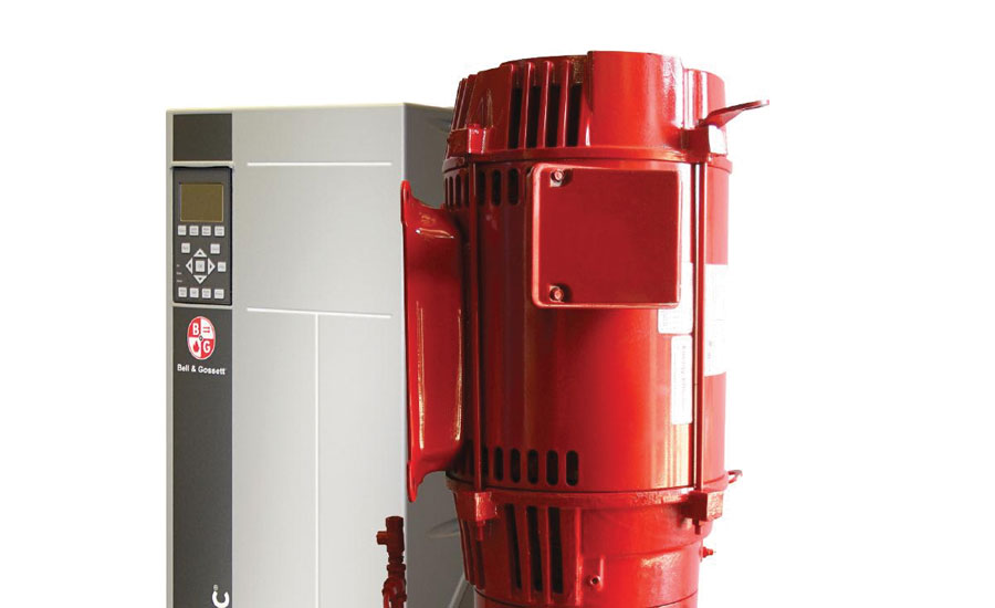 Xylem highlighted its new energy-efficient close-coupled inline centrifugal pumps.
