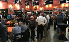reps and guests at the historic Harley-Davidson factory in Orlando
