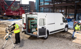 The Ram Commercial ProMaster and ProMaster City vans include unibody construction