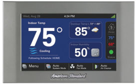 American Standard Heating & Air Conditioning Gold 824 Control