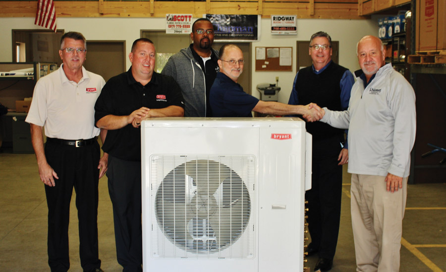 Indiana's Chapman Heating and Air Conditioning Donates Ductless Unit