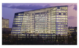 The Edge is a 40,000-square-meter, multi-tenant, Class A office building