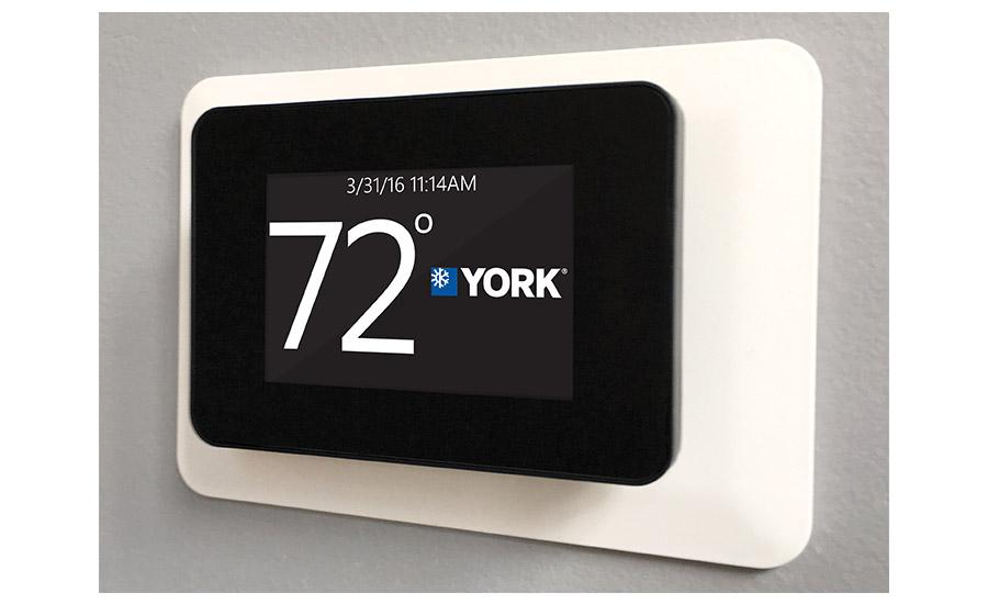 york hvac thermostat