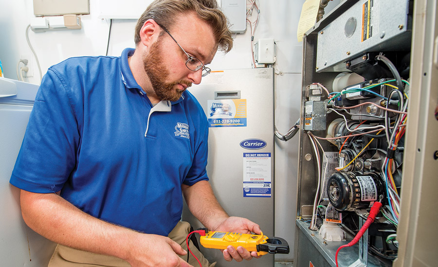Reps at St. Paul, Minnesota-based Minneapolis Saint Paul Plumbing Heating Air Inc. (MSP) sit on the advisory boards of local trade schools as a way to attract younger employees who are new to the workforce.