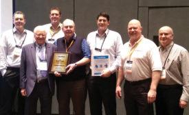 Aquamotion Honors Walter F. Morris Co.