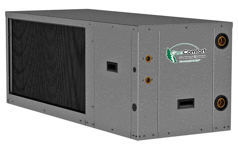 Hydron Module Model: HZT 024 - 072 horizontal package ground-source heat pump