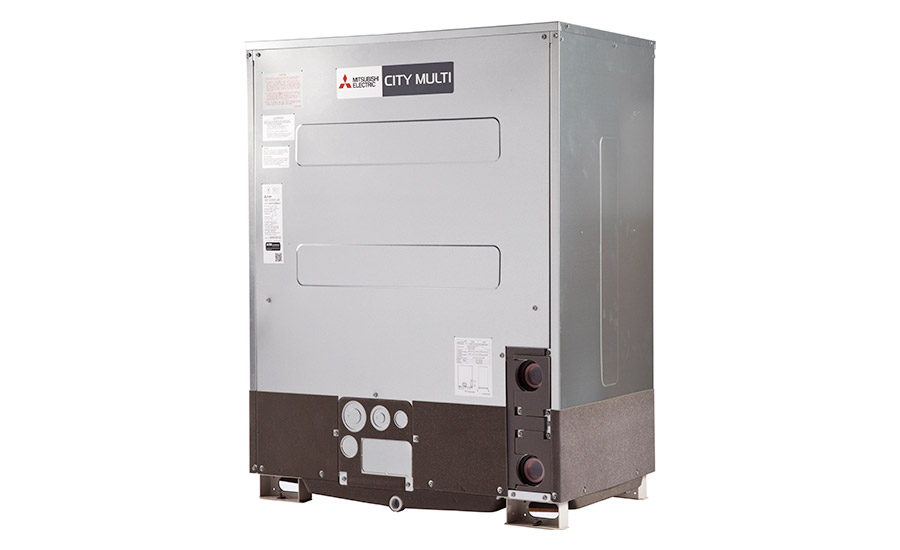 Mitsubishi Electric: City Multi L-Generation VRF water-source heat pump system