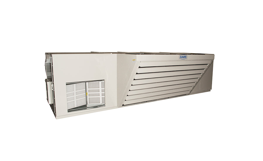 summer heat no match for hvac cooling equipment  aaon rn series horizontal rooftop unit