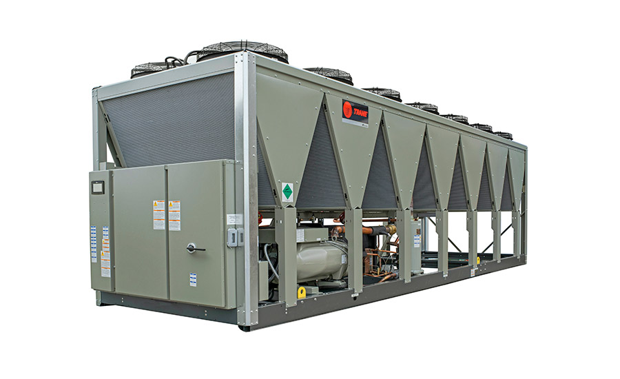 Trane: Sintesis air-cooled chiller, RTAF