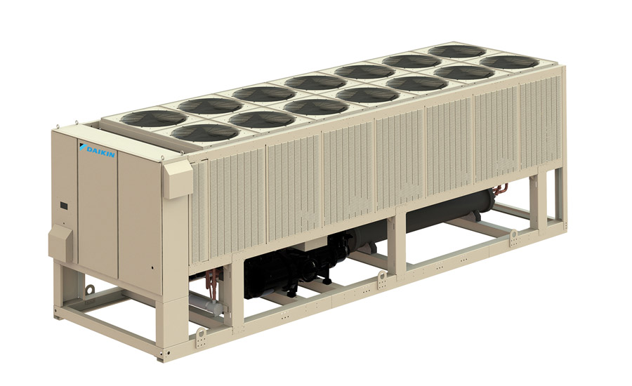The Daikin Pathfinder® air-cooled screw chiller is fully configurable with flexible design and component options that allow a balance of price and performance to best meet requirements.