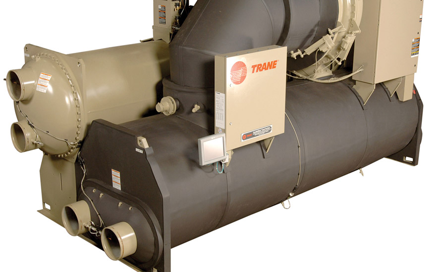 Trane® CenTraVac™ centrifugal liquid chillers have a typical service life of 30-plus years. Some CenTraVac chillers have remained in operation for 50 years or more. Photo courtesy of Trane