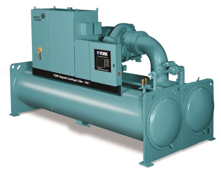Johnson Controls has expanded its magnetic-bearing centrifugal chiller line, the York YMC2, to 1,000 tons of cooling