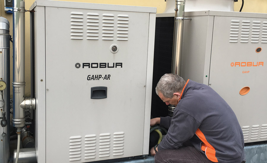 Robur Corp. offers gas-fired absorption cooling technology