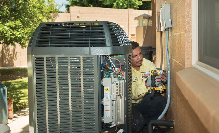 biannual heat pump maintenance includes system inspection