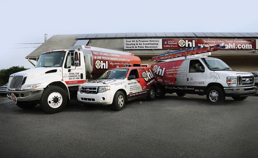 R.F. Ohl in Lehighton, Pennsylvania, is one company prepared for a strong rebound this year as heating oil deliveries were down approximately 30 percent due to an unusually mild winter in the Northeast.