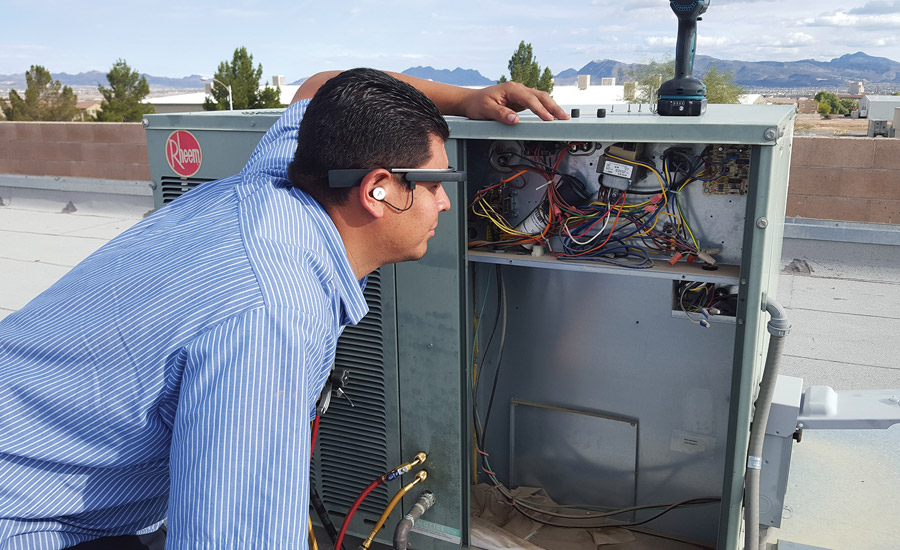 The team at Las Vegas Air Conditioning Inc. has used smart glasses in an attempt to make diagnosing system problems easier and to ensure technicians have constant access to help and support.