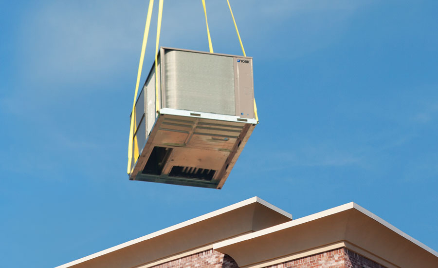 The York® Direct Fit™ rooftop replacement solution is designed to directly replace existing rooftop units from other manufacturers.