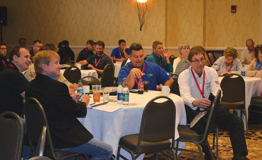 NCI's Idea Meeting broke record attendance during the annual Summit conference in Savannah, Georgia. Contractors were charged $20 to attend, which was then used to reward those who presented the best ideas.