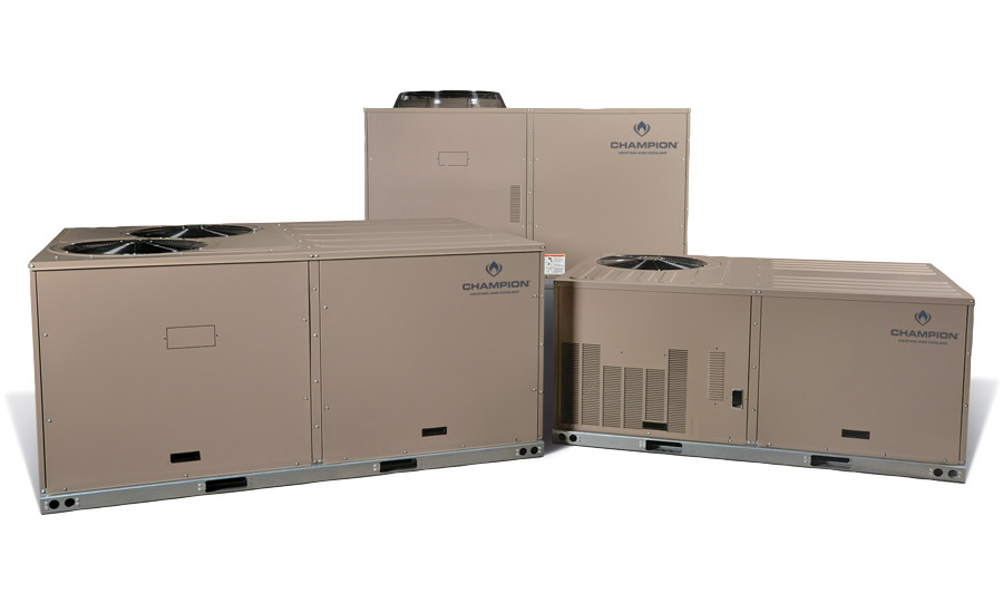 Champion brand of Johnson Controls: Packaged Heat Pump