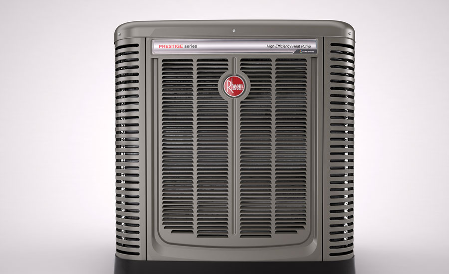 Rheem's Prestige Series variable-speed heat pumps precisely adjust to the heating and cooling needs of the homeowner.