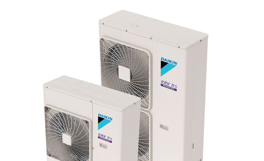Daikin's VRV IV-S Series heat pump systems are available in 11 different indoor ductless and ducted models.